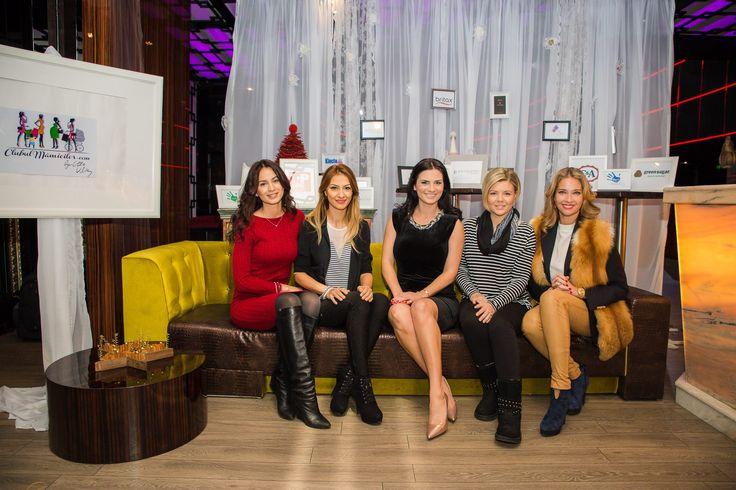 Ellie White la lansarea Asociatiei Clubul Mamicilor, Lounge Bamboo