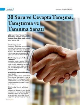 30 Soru ve Cevapla Networking Hakkında Herşey - GBM Magazine @Ertuğrul Belen