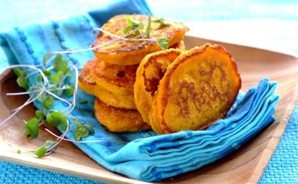 No one will be able to resist these delicious pumpkin fritters morning, noon or night.