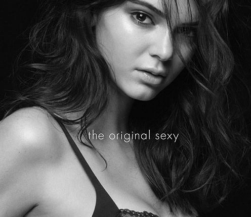 "Calvin Klein ""The original sexy, Kendall Jenner, Joan Smalls, bielizna, mycalvins"
