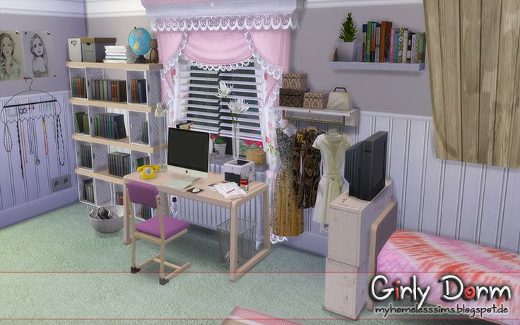 """from the lot """"Girly Dorm"""""""