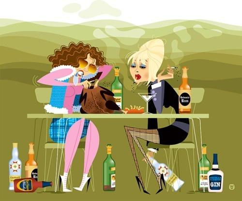 Patsy & Edina #AbFab