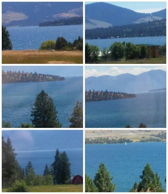 Beautiful Flathead Lake Montana