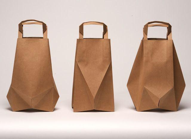 Dutch designer Ilvy Jacobs's origami bags