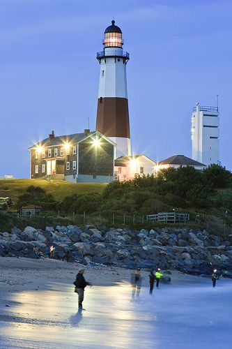 Montauk Point Lighthouse, Long Island,  NY: Nearly every weekend for almost 2 years spent right there on that sand fishing. Incredible memories