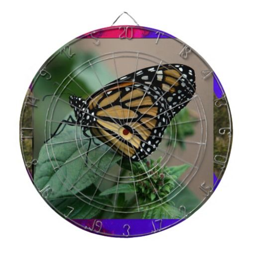 CUTE butterfly insect nature kids children family Dart Boards