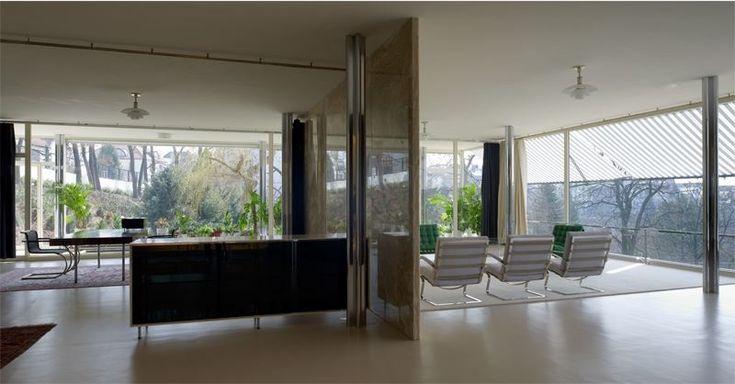Villa tugendhat de mies van der rohe 1930 created over - Casa tugendhat mies van der rohe ...