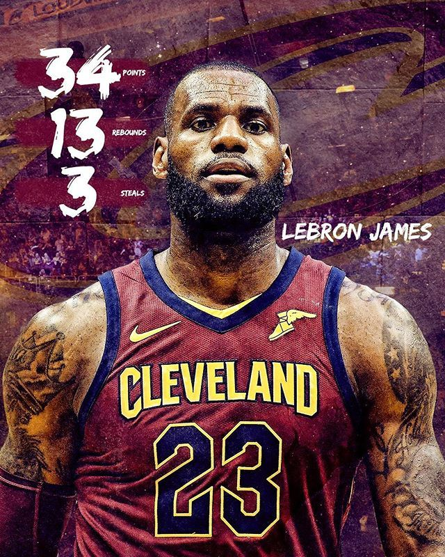 It has become a very typical scoring night for @kingjames. Lebron could probably go out there every game and get a triple double if he wanted to. Not to say he doesn't want to but he knows that it's the end of the season that matters. Even though his record in the finals isn't great the fact he has been to so many finals is amazing. He has lived up to the hype since he was 16 which is also very impressive. Being in the news at that young age couldn't have been easy and to not let it affect…