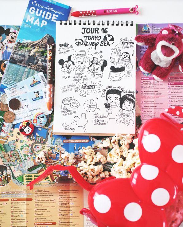 Day 16 : Tokyo DisneySea | Le monde de Tokyobanhbao: Blog Mode gourmand