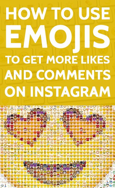 How to Use Emojis to Get More Likes & Comments on Instagram