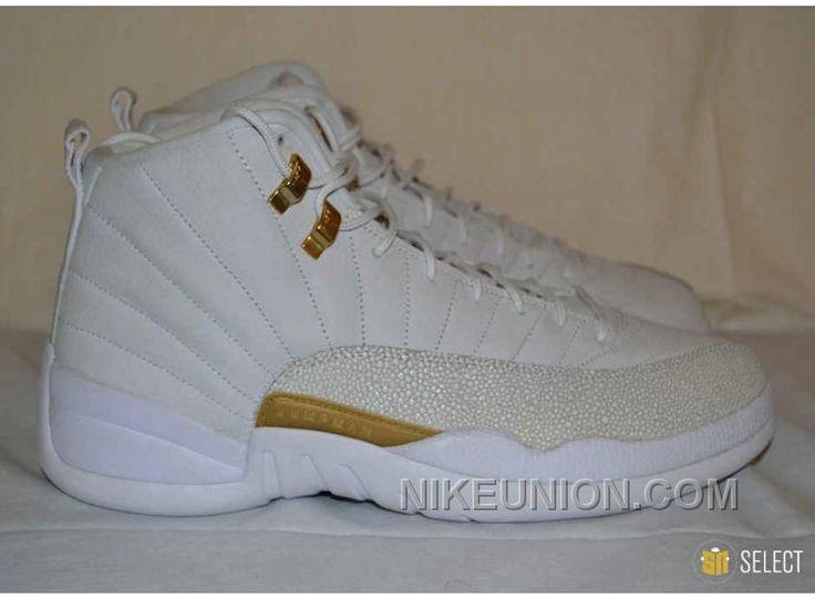 http://www.nikeunion.com/air-jordan-12-retro-online-shop-ovo-white-gold-for-sale.html AIR JORDAN 12 RETRO ONLINE SHOP OVO WHITE GOLD FOR SALE : $68.83