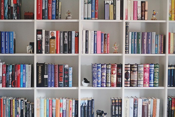 Paperback Castles: Tema-tirsdag #119: Min mors hjemmebibliotek