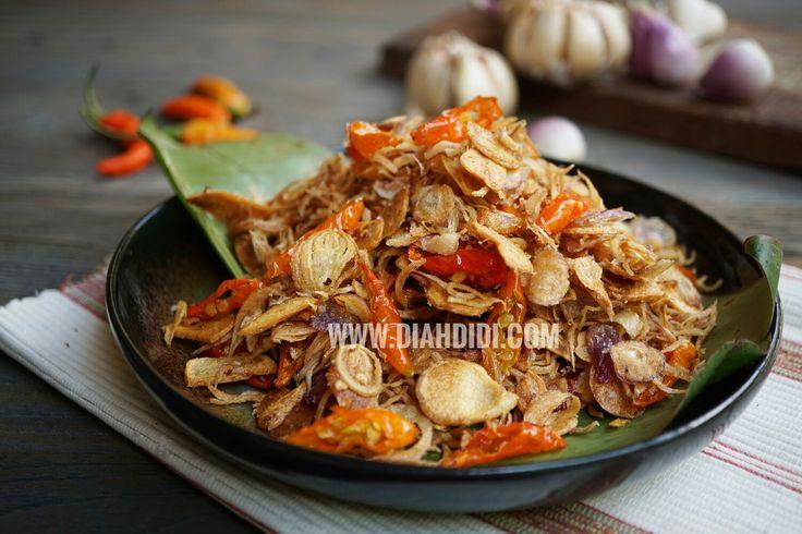 Diah Didi's Kitchen: Sambal Uyah Tabio Khas Bali