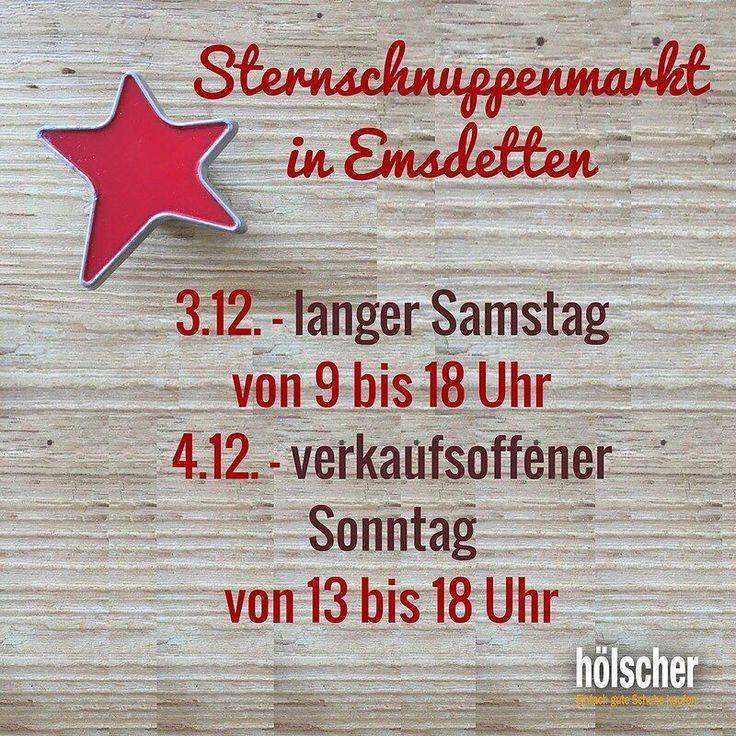 Spectacular Sternschnuppenmarkt in Emsdetten heute verkaufsoffener Sonntag von bis Uhr