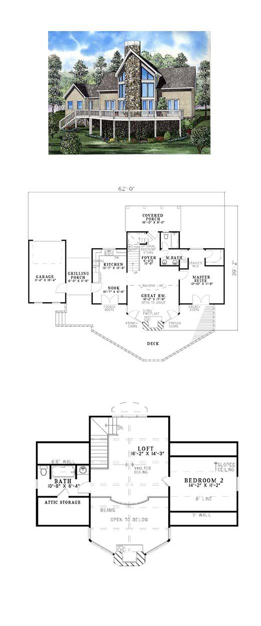 46 Best Images About A Frame House Plans On Pinterest