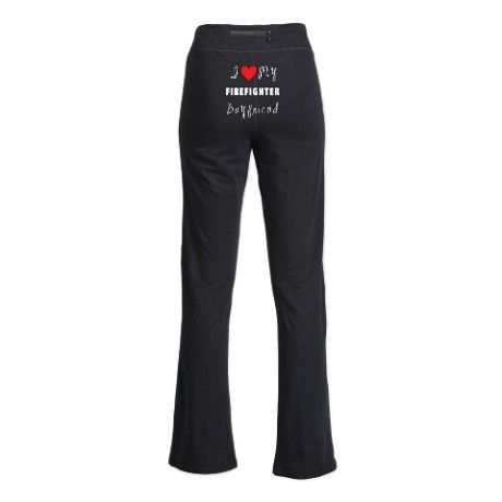 Firefighter Boyfriend Yoga Pants