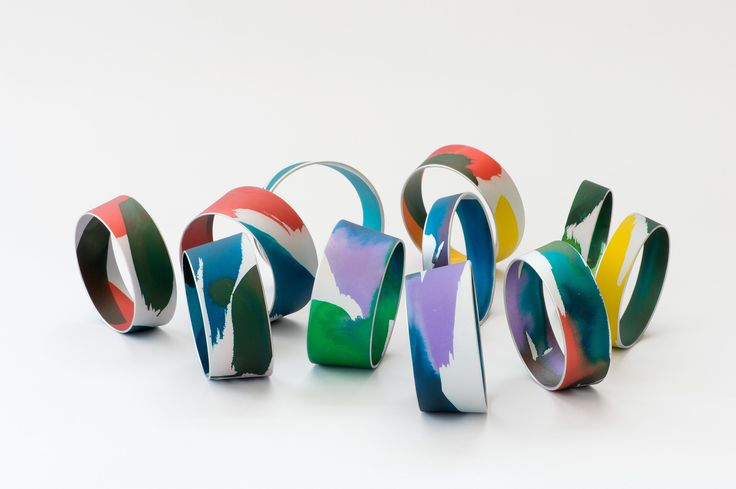 www.joannacampbell.co.nz anodised bangles by Joanna Campbell