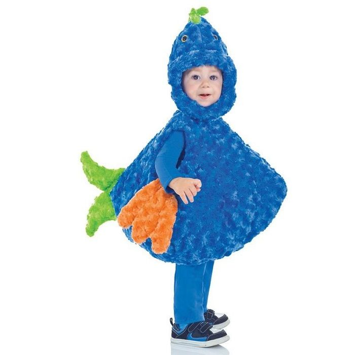 Big Mouth Blue Fish Costume For Toddlers http://www.mommytodaymagazine.com/celebrations/halloween/cute-halloween-costumes-for-toddlers/ #HalloweenCostumes