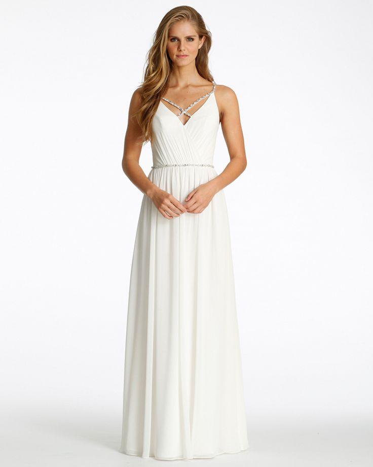 2016 люкс кот шифон линии невест платье с бисером крест - крест ремни талии v-ремень природные пояса с юбка в сборку