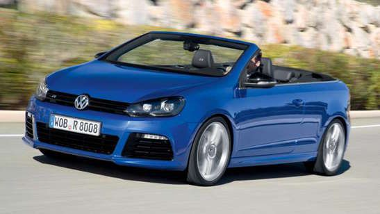 VW Golf Cabrio R-Version mit 265 PS