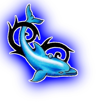 Dolphin Tattoo Designs For Women | Tribal Dolphin Tattoos Designs- High Quality Photos and Flash Designs ...