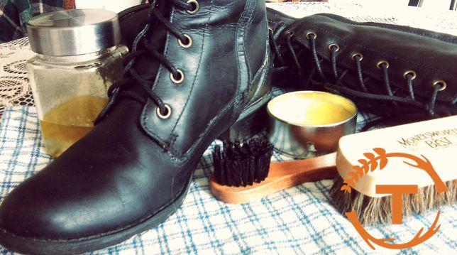 Recettes maison de cire et de nettoyant à chaussures 100% naturels!