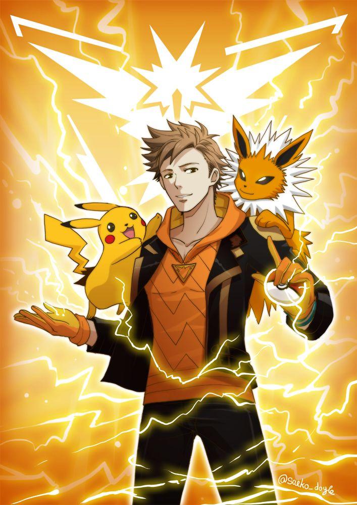 [Pokemon Go) Spark by saeko-doyle on DeviantArt