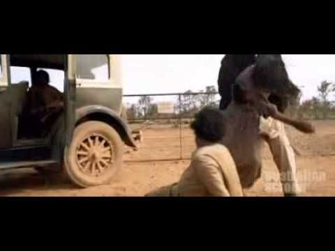 A scene from Rabbit Proof Fence - Stolen Generations. This would be great to use to teach children about the stolen generation. Please note their is some very inaproppriate language in the comments below which you will need to cover.