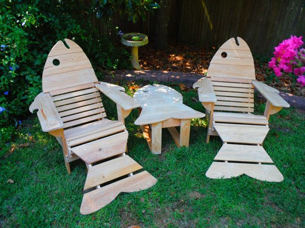 St. Augustine Adirondack Chair Outdoor Patio Chairs