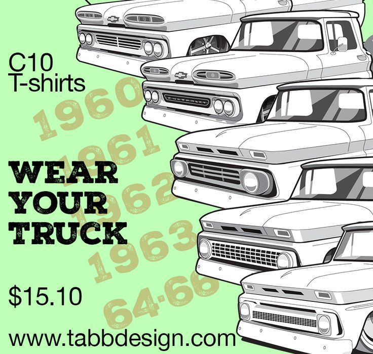 14 best Classic Chevy Truck Tshirts images on Pinterest  Pickup
