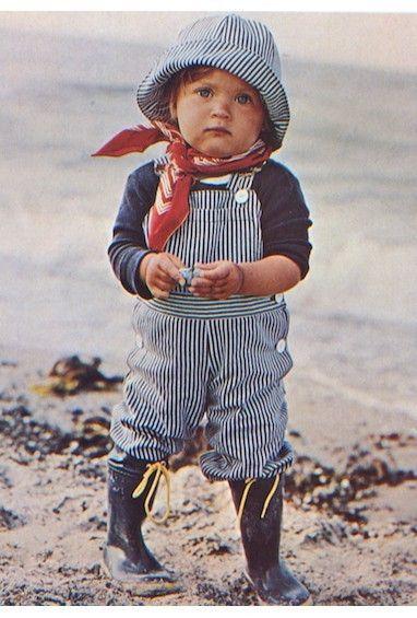 enfant, mer, marin