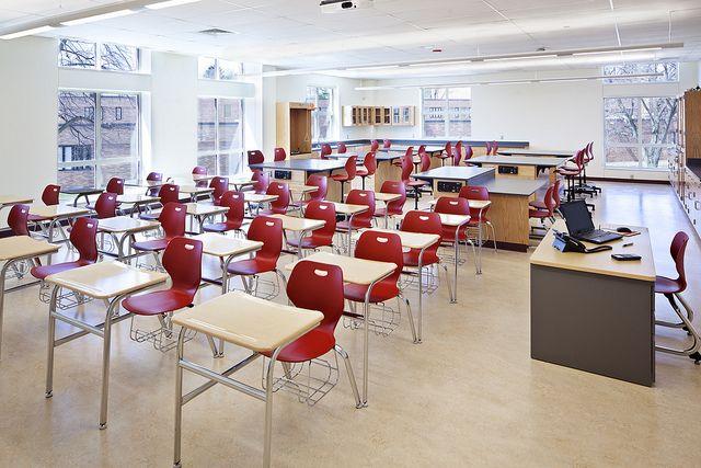 Moon Area High School Classroom by Nello Construction Company, via Flickr