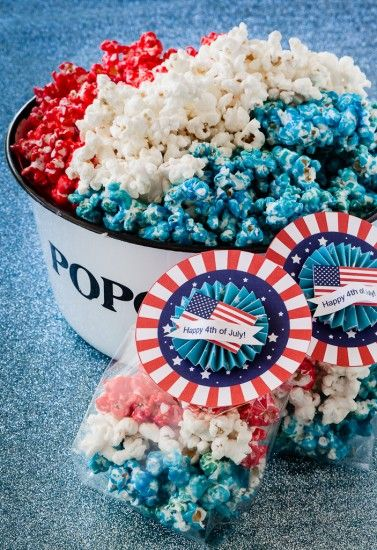 Patriotic Popcorn | The Secret Life of a Chef's Wife