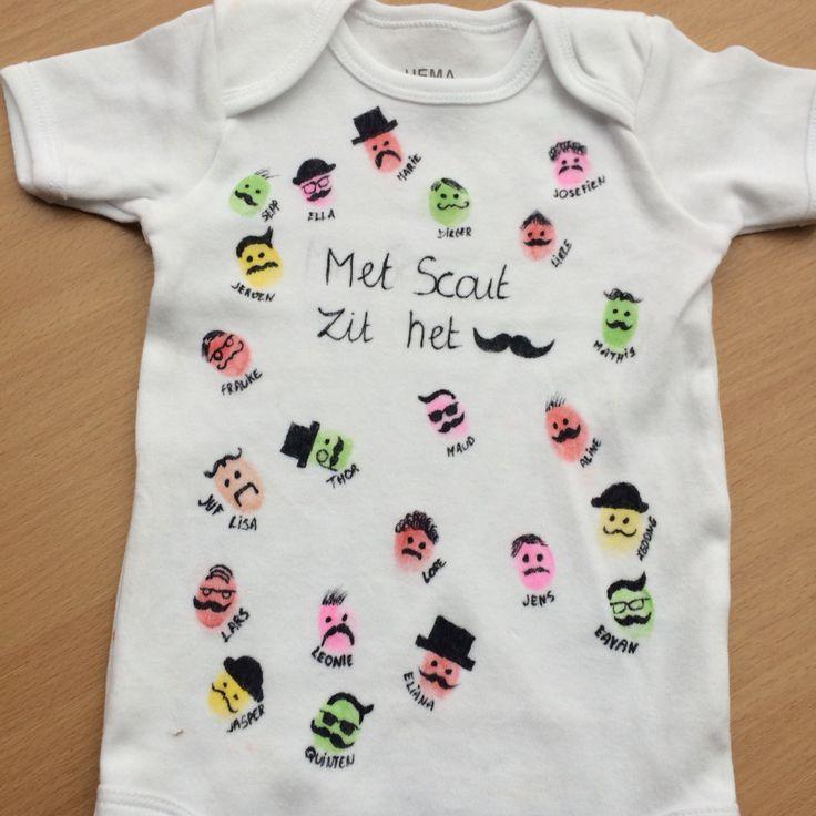 Cadeau voor een baby broer of zus van de klas! Geboorte Babycadeau