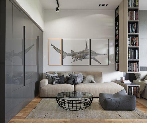 Gravity Interior — via Behance