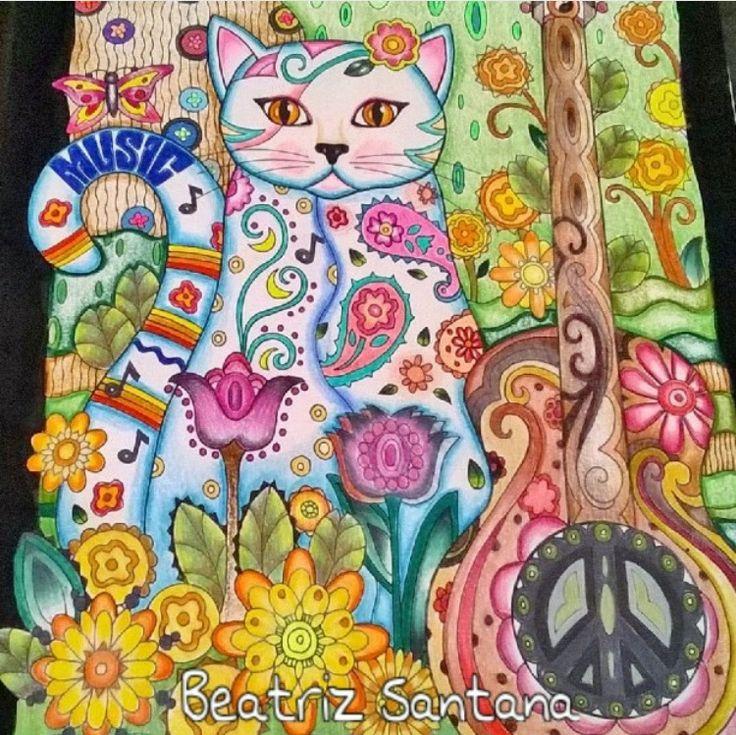 Inspirational Coloring Pages Por Beatriz Santana