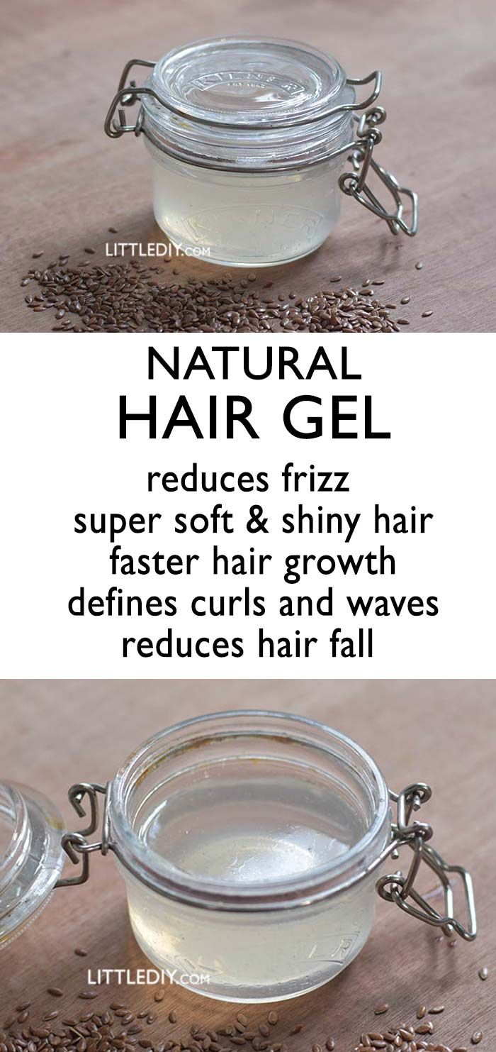 FLAXSEED HAIR GEL for hair growth and hair shine