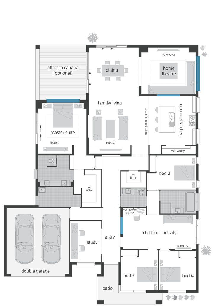 Monaco Three Elite floor plan