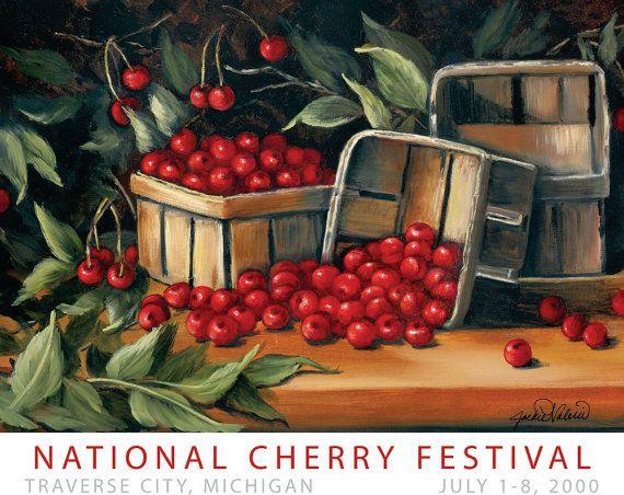 2000 National Cherry Festival Print by UpNorthGiftsByBullsi