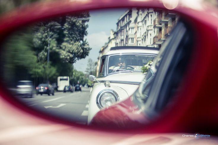Das Hochzeitsauto...