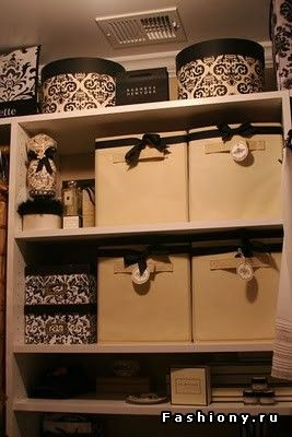 Как организовать порядок в доме? Идеи для хранения / коробки для хранения белья