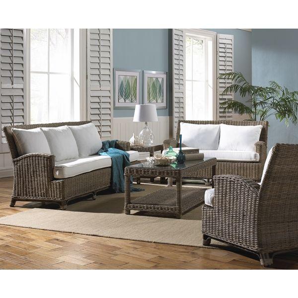 Panama Jack Exuma Indoor 5-piece Living Set - Overstock Shopping - Big Discounts on Panama Jack Living Room Sets