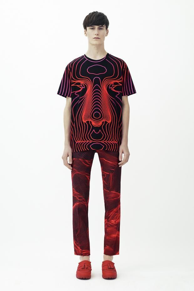 Patterns by Christopher Kane.