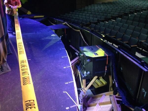 Stage holding 250 collapses at Anaheim high school; 24 injured - LOS ANGELES TIMES #Anaheim, #L.A.