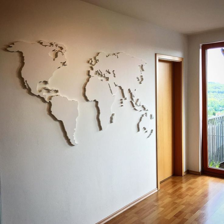The wall... #map #homedecor #homemade #relieve