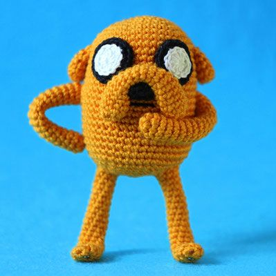 OlinoHobby: Jake The Dog - Crochet Pattern Free Download