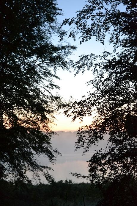 Sunrise on midsummers day
