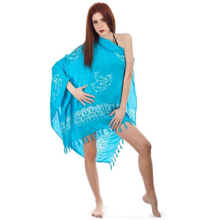 Παρεό Γυναικείο Senza Light Blue - BeMine.gr