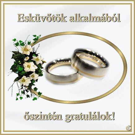 gratulálok az esküvőhöz - Google keresés