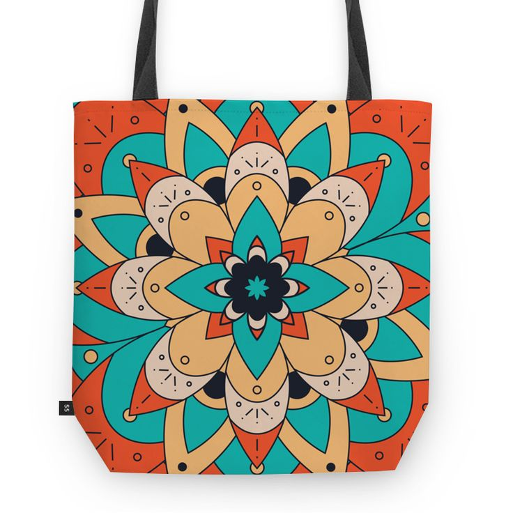Bolsa Mandala Rosa dos Ventos II de @estudiobarto | Colab55